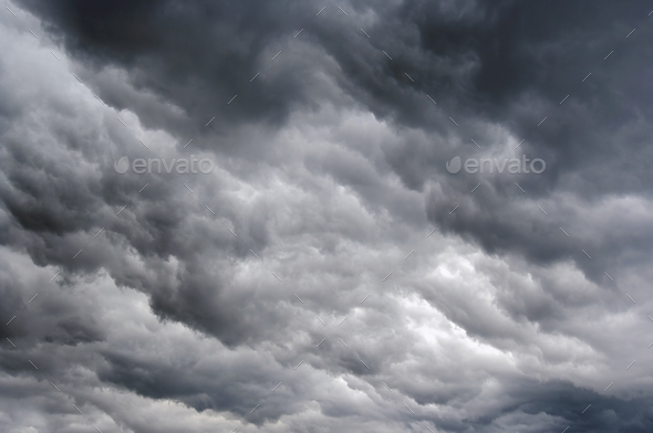 Rainy Clouds - Stock Photo - Images
