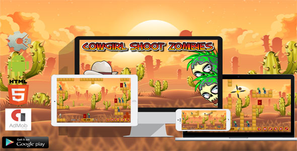 Cowgirl Shoot Zombies - CodeCanyon Item for Sale