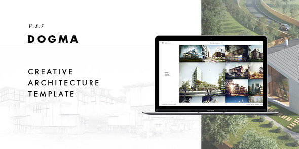 Dogma - Responsive Architecture Template - Business Corporate