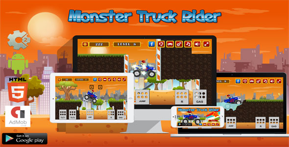 Monster Truck Rider - CodeCanyon Item for Sale