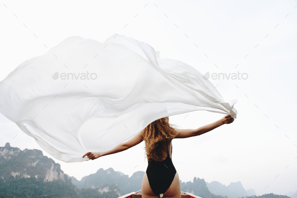 Wild and free like the wind - Stock Photo - Images