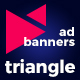 Triangle - Multipurpose Animated HTML5 Banner Ads (GWD)