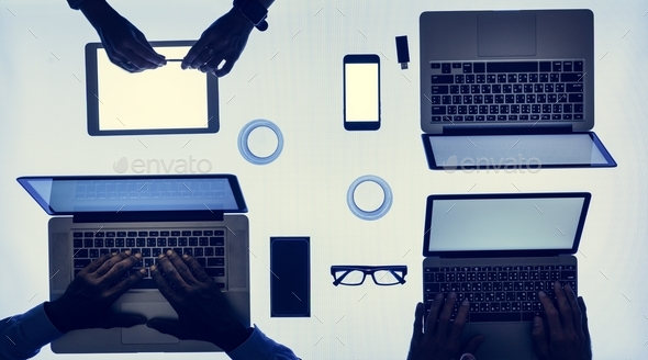 Digital devices - Stock Photo - Images