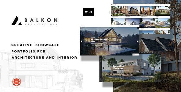 Image of Balkon - Creative  Responsive  Architecture Template