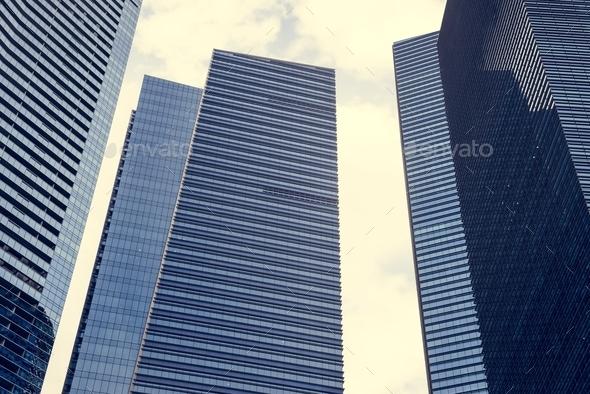 Singapore cityscape - Stock Photo - Images