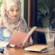 Islamic woman reading book - PhotoDune Item for Sale