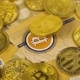Next Digital Bitcoin Metal Coin Among Real Models - VideoHive Item for Sale