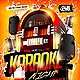 Karaoke Night Jukebox Style Party Flyer - GraphicRiver Item for Sale