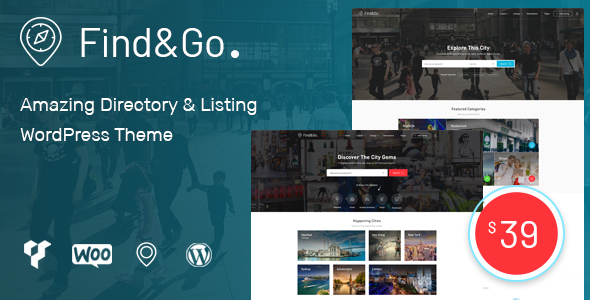 Image of Findgo - Directory & Listing WordPress Theme