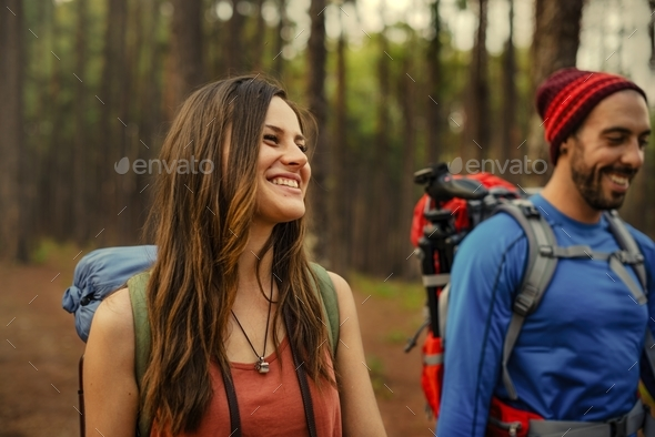 Couple Exploring Trip Holiday Concept - Stock Photo - Images