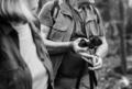 Seniors trekking in a forest - PhotoDune Item for Sale