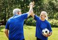 Team of mature football players - PhotoDune Item for Sale