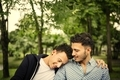 Gay Couple Love Outdoors Concept - PhotoDune Item for Sale