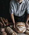 Homemade sourdough bread food photography recipe idea - PhotoDune Item for Sale