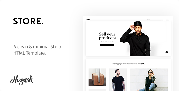 Image of Minstor HTML Template