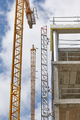 Building under construction. Crane machinery structure. Industry. Vertical - PhotoDune Item for Sale