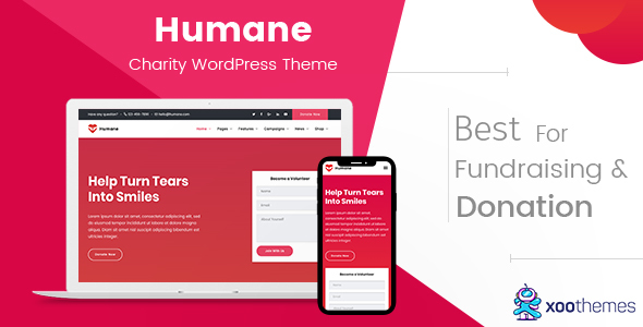 Image of Humane – Charity WordPress Theme