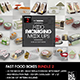 Fast Food Boxes Mock Up Bundle 2 - GraphicRiver Item for Sale