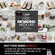 Fast Food Boxes Mock Up Bundle 2 - GraphicRiver Item for Sale
