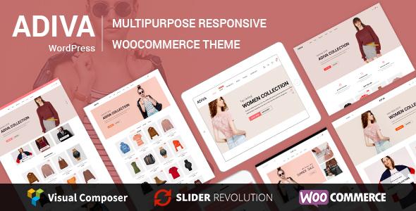 Image of Adiva - eCommerce WordPress Theme