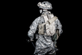 Army soldier equipped for mission in desert area - PhotoDune Item for Sale