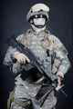 United States marines machine gunner studio shot - PhotoDune Item for Sale