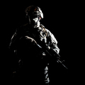 Armed infantryman during night military operation - PhotoDune Item for Sale