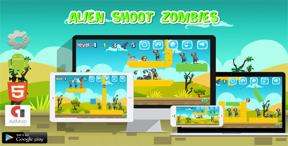 Alien Shoot Zombies - CodeCanyon Item for Sale