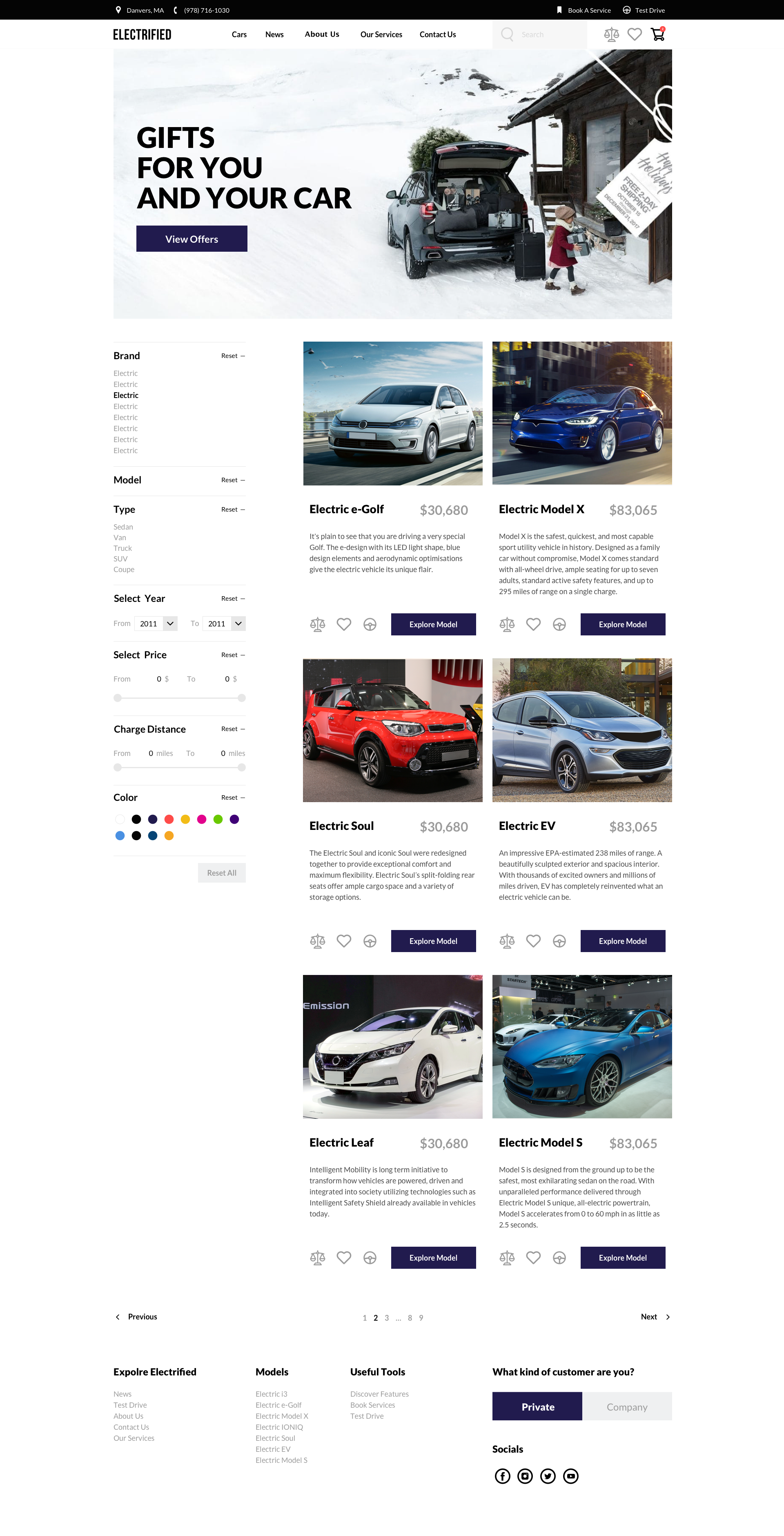 Electrified Electric Cars Sketch Template