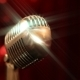 Retro Microphone with Shine - VideoHive Item for Sale
