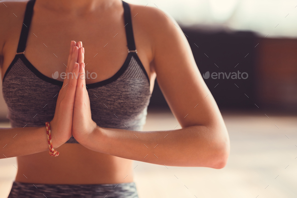 Young yoga instructor - Stock Photo - Images