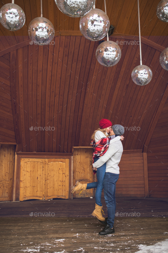 Happy couple in love - Stock Photo - Images