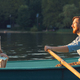 Attractive couple in a boat - PhotoDune Item for Sale