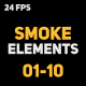Liquid Elements 2 Smokes 01-10 - VideoHive Item for Sale