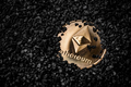 Ethereum cryptocurrency golden coin - PhotoDune Item for Sale