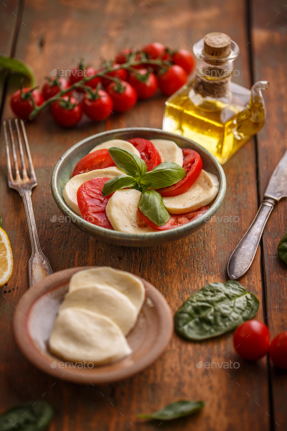 Simple and tasty starter - Stock Photo - Images