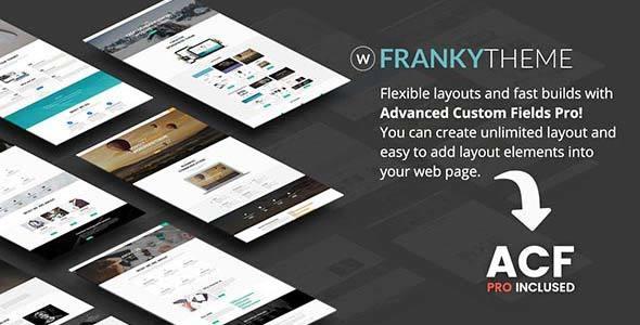 Franky | Multi-Purpose WordPress Theme - Business Corporate