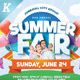 Summer Fair Flyer Templates - GraphicRiver Item for Sale
