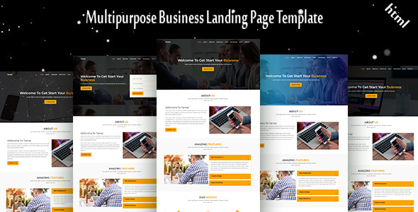 Tamai - Multipurpose Business Landing Page Template - Business Corporate