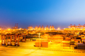 shanghai container terminal at night - PhotoDune Item for Sale