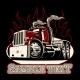 Cartoon Retro Semi Truck - GraphicRiver Item for Sale