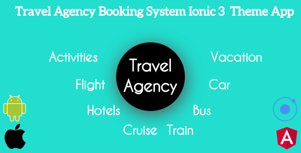 Ionic 3 Travel Agency Booking System Theme App Supports Multi Language - CodeCanyon Item for Sale
