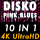 Disko Pink Blues Vj Loops Pack - VideoHive Item for Sale