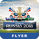 Russia 2018 Flyer Template - GraphicRiver Item for Sale
