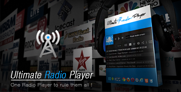 Ultimate Radio Player            Nulled