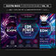 Electro Music Flyer Bundle Vol 52 - GraphicRiver Item for Sale