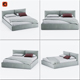 Brick Super King Size Bed