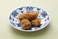 deep fried honeycomb taro dumplings, chinese dim sum - PhotoDune Item for Sale