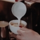Barista Makes Capuchino with Heart Shape - VideoHive Item for Sale