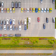 Car parking lot viewed from above Aerial view. Top view - PhotoDune Item for Sale